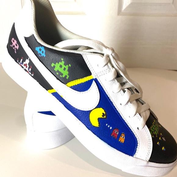 Similar Funcionar falso  Nike Shoes | Custom 80s Video Game Shoe | Poshmark